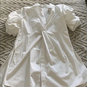 New York and Company  white blouse
